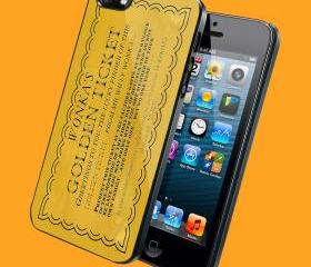 wonkas golden ticket - Customized iPhone 4/4S & iphone 5